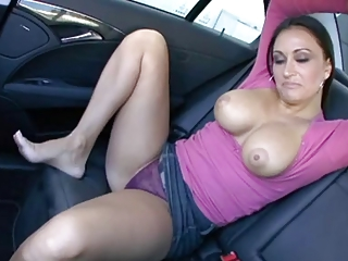 Busty Baby Claudia Valentina Fucked In Auto,by Blondelover