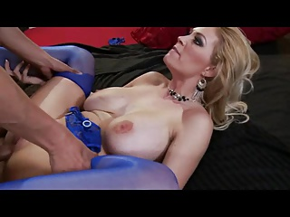 Sexy MILF in Blue lingerie 223.SMYT