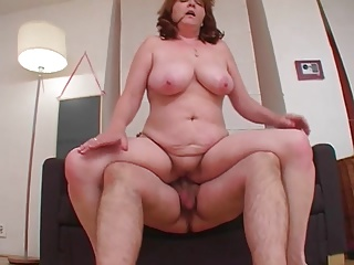 Big old broad gets nailed